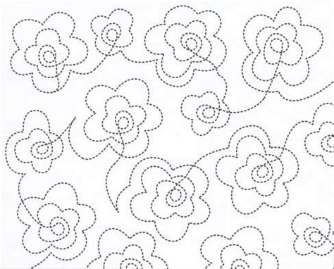 Free Continuous Line Quilting Patterns by Free Continuous Line Quilting Patterns Catalog Of Patterns