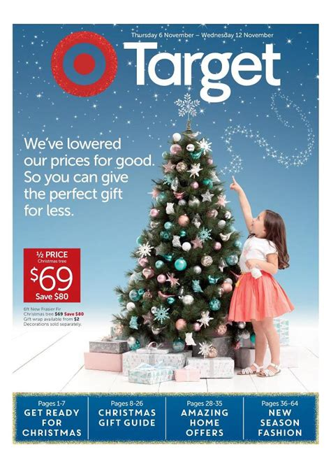 target catalogue christmas november deals