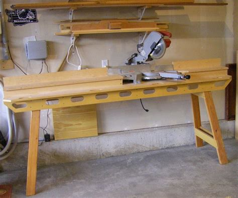 woodworking miter saw miter saw stand by lad lumberjocks woodworking