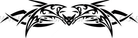 bat tattoo png tribal bat production ready artwork for t shirt printing