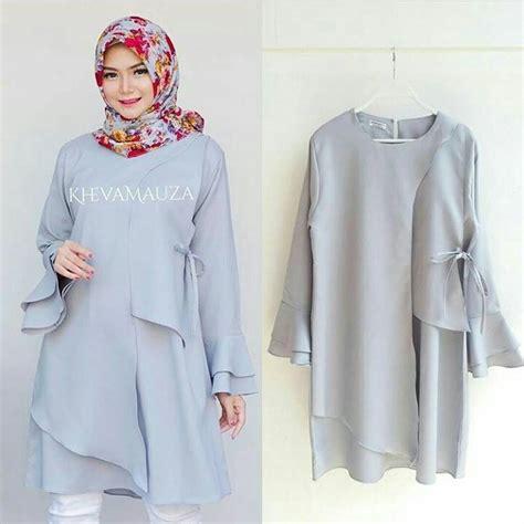 grosir busana muslim karamoy tunik grosir baju muslim pakaian wanita dan busana murah