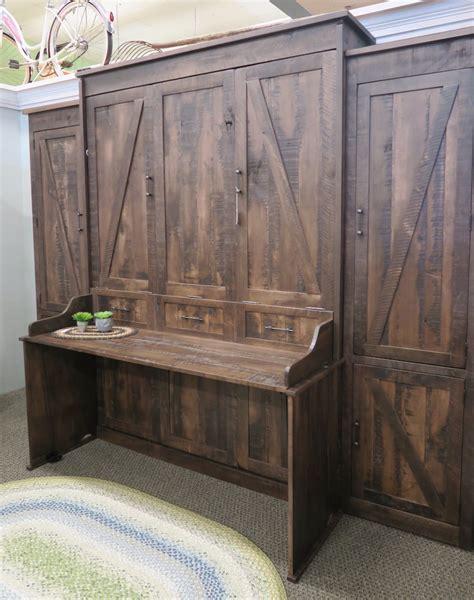 rustic murphy bed beautiful rustic rustic desk murphy bed dutch haus custom furniture