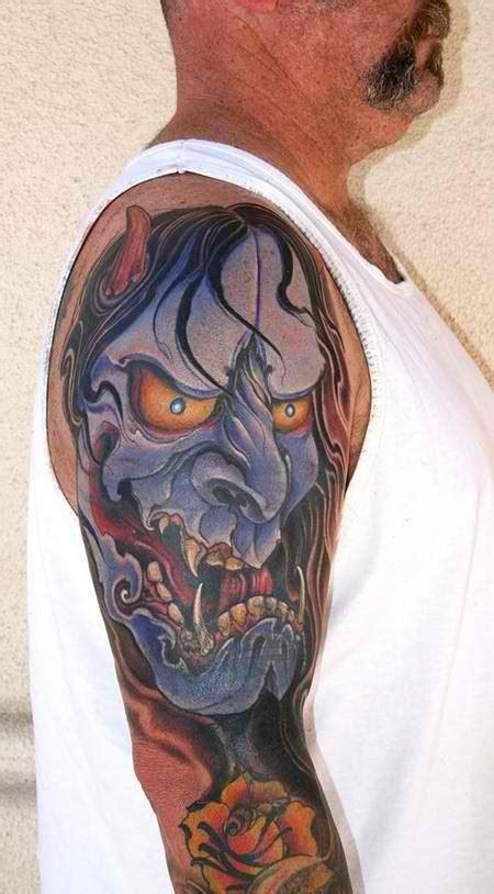 hannya arm tattoo 21 great hannya shige tattoos
