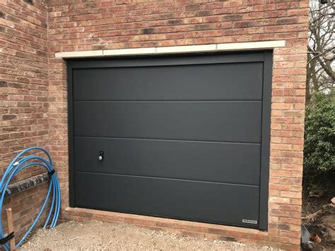 hormann garage doors hormann sandgrain sectional doors prestbury pennine