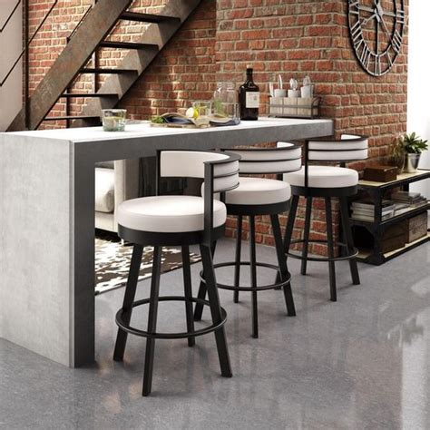 Amisco Browser Metal Swivel Stool by 1000 Ideas About Small Apartment Kitchen On