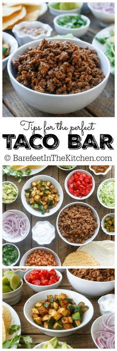 taco bar toppings guacamole for a crowd recipe best taco bar ideas