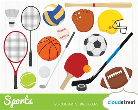 sports clipart buy 2 get 1 free sports clipart sports clip sports