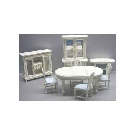 8 pc dining room set 8 pc dining set creme dollhouse dining room sets