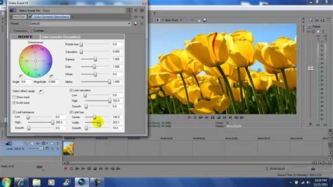 vegas pro 11 tutorial effects sony vegas pro 11 sin city color effect tutorial youtube