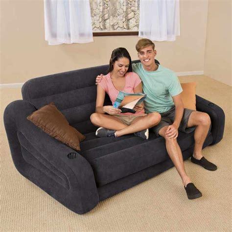 intex divano letto gonfiabile divano letto gonfiabile matrimoniale per ospiti ceggio