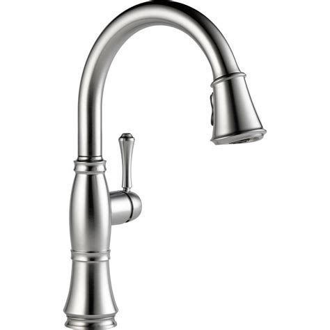 delta cassidy kitchen faucet delta cassidy single handle pull down sprayer kitchen