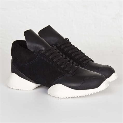adidas rick owens rick owens black men black adidas runner core core romilk