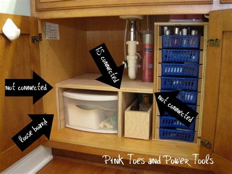 under the bathroom sink storage solutions under sink storage in bathroom for the home pinterest
