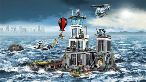 Lego City Prison Island 60130 60130 prison island lego 174 city products and sets lego city lego