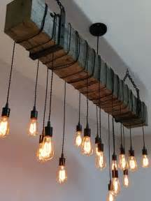 hanging barn lights 72 quot reclaimed barn beam light fixture with hanging