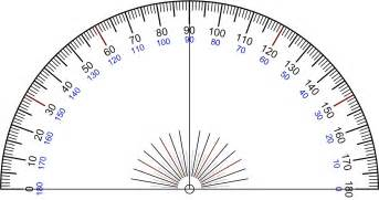 Protractor Template by Median Don Steward Mathematics Teaching Protractor