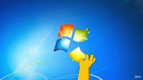imagenes en movimiento para windows xp la mano de homero en windows jah imagenes hd