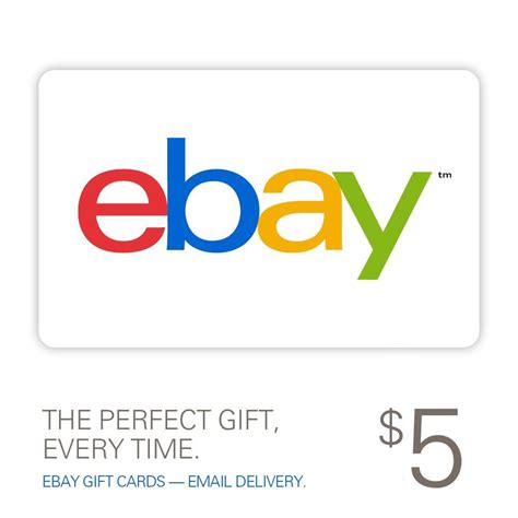 5 Gift Card - 5 ebay gift card email delivery ebay