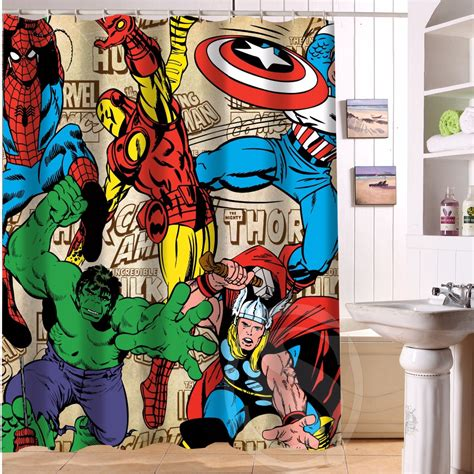 marvel shower curtain popular modern marvels buy cheap modern marvels lots from
