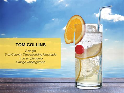 Tom Collins Sodastream The Recipe Book