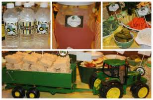 Mint oreos so they went perfectly with our green tractor colors add a