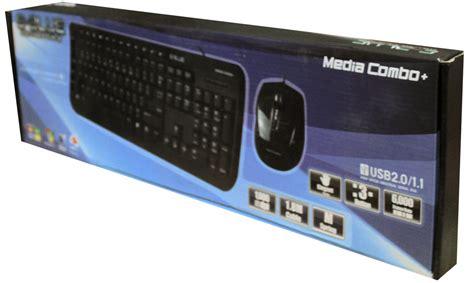 Mouse Merk Armageddon e blue media combo harga keyboard komputer