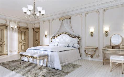 wallpapers luxurious bedroom interior classic