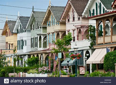 houses in new jersey victorian houses gurney street cape may nj usa stock
