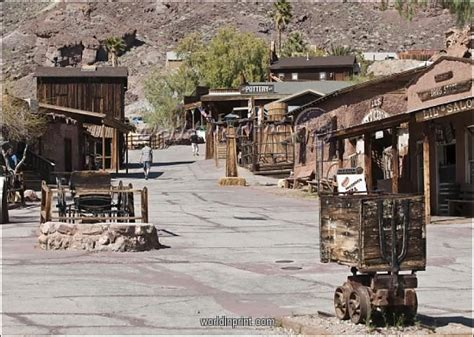 calico ghost town near barstow california united states of america