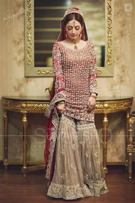 Pakistani & Indian Bridal Dresses 2018 Collection Designs
