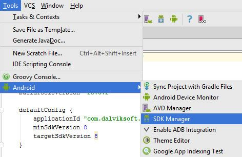 download android studio and sdk tools android developers how to download a new api for sdk in android studio