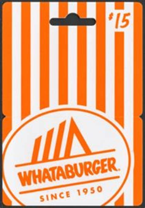 Whataburger Gift Cards - gift card whataburger since 1950 whataburger united states of america whataburger