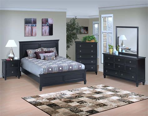 black full bedroom set tami full black bedroom set nader s furniture
