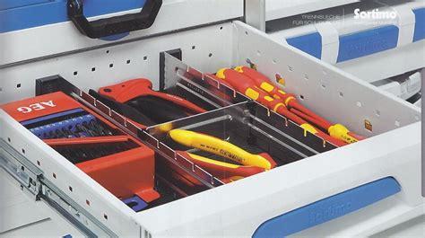 schubladenauszug unter der schublade sortimo schubladen fahrzeugeinrichtung de