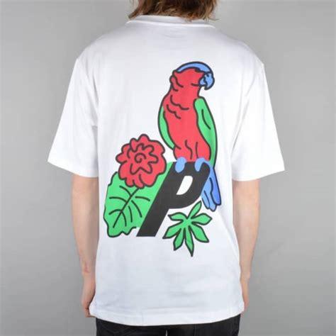 Kaos T Shirt Palace Skateboards palace skateboards parrot skate t shirt white skate t