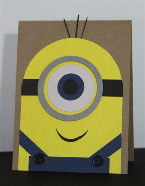minion cards minion card fathers day stall ideas
