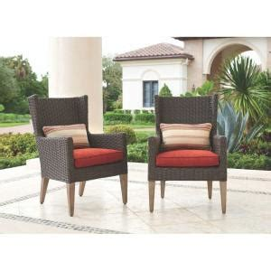 Outdoor Cushions Naples Florida Home Decorators Collection Naples Brown All Weather Wicker