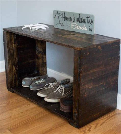 mudroom shoe bench pallet mudroom bench and shoe rack pallet furniture diy