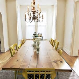 Diy Dining Room Table Ideas by Diy Dining Table With Trendy Hairpin Legs Shelterness