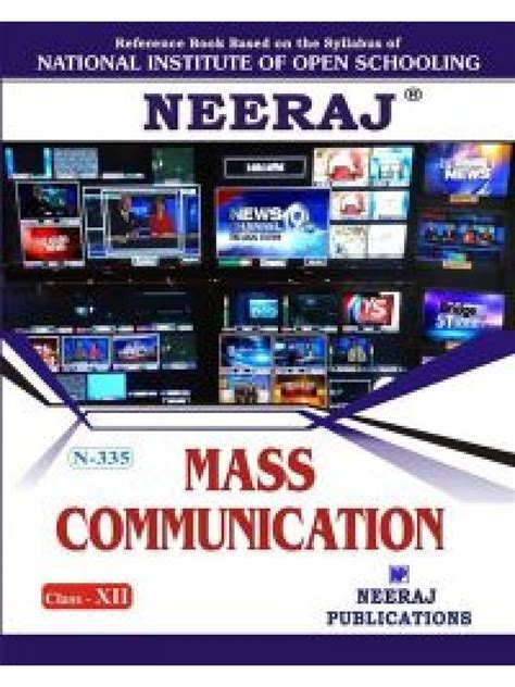 Mba In Mass Communication In Usa by N 335 Mass Communication In Medium 12th Class
