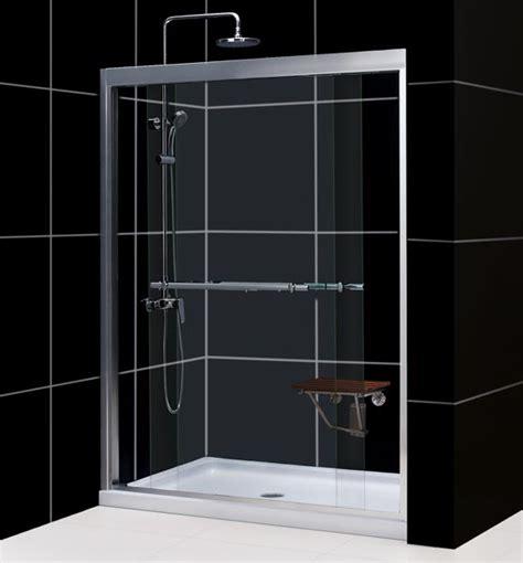 Alternatives To Glass Shower Doors Dreamline Showers Duet Frameless Sliding Shower Door Shower Door Glass Frameless Shower Door