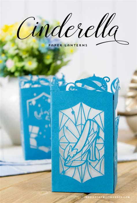 How To Make Paper Cut Designs - cinderella paper lantern designs by miss mandee make