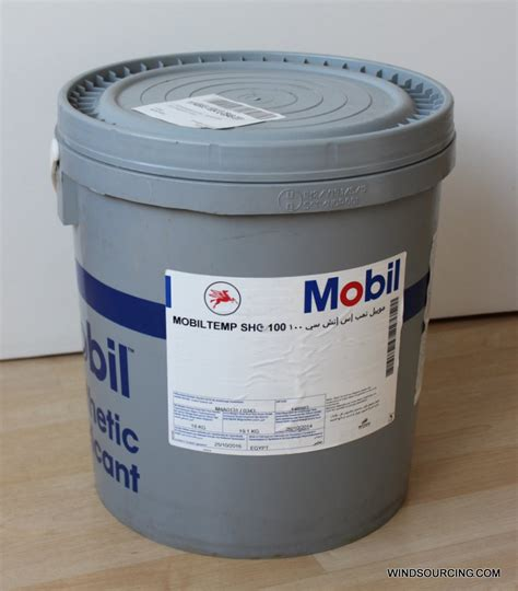 Spare Part Mobil Up mobiltemp shc 100 18 kg drum synth grease grease