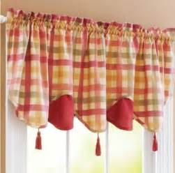 Kitchen Canisters Glass country kitchen curtains and valances designcorner
