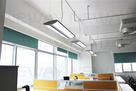Office Pendant Lighting 36w Suspended Linear Led 1190mm Up Lighting Led Linear Fluorescent Up And