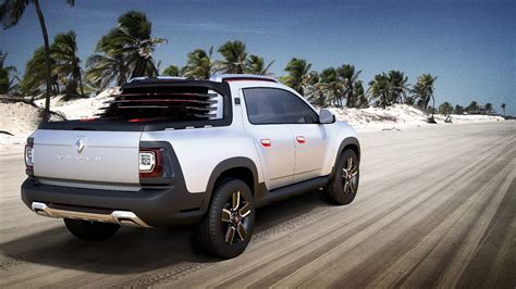 renault pickup truck renault turns duster into oroch pickup truck concept for
