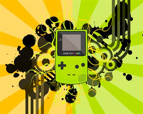 yellow wallpaper game game boy wallpaper and background 1280x1024 id 81091