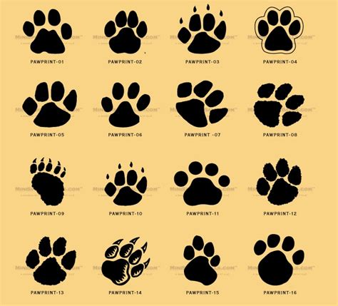 collection of 25 bear paw tattoo