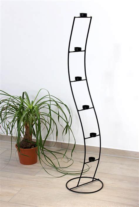 teelicht kerzenleuchter teelichthalter sw102 aus metall 120 cm kerzenleuchter