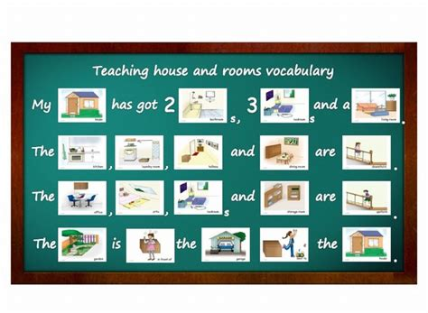 Flashcards Teaching Activities House And Rooms Yo Yee
